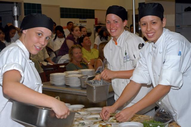 Chef Eric Tucker & Students