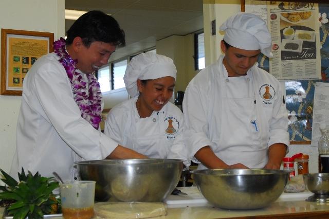 Chef Chai & Students