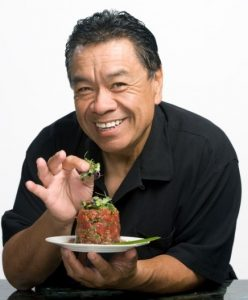 Chef Sam Choy, founder of the Sam Choy Keauhou Poke Contest