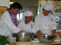Chef Chai & Students