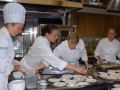 Chef Nancy Oakes & Chef Pamela Mazzola + Staff