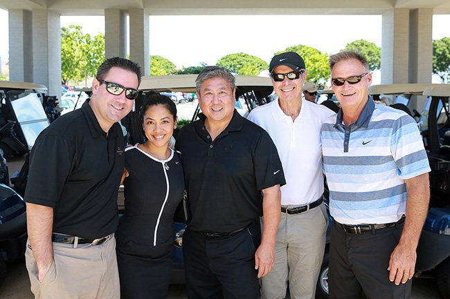 Mark Littles, Philana Bouvier, Alan Wong, Les Enderton and Tom Mullen