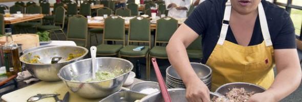 Dumpling making, All Day Wong